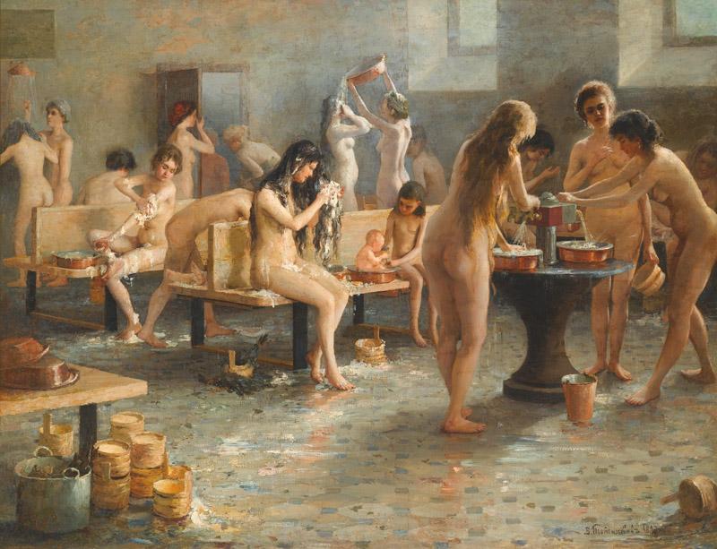 Фото русских женщин баня